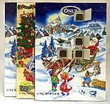 Шоколад Новогодний Адвент календарь Рiздвяний подарунок  Австрия 75 гр, фото 3