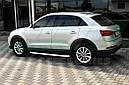 Боковые площадки Fullmond (2 шт., алюминий) - Audi Q3 2011+ гг., фото 2