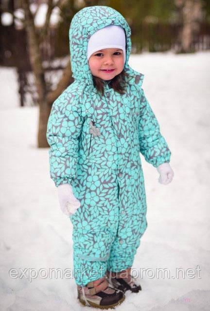 Детский зимний комбинезон термо Crockid мембранная ткань