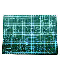 Mrosaa A3 ПВХ-режущий коврик для патчей для резки DIY Инструмент Режущая доска Двусторонняя самовосстановление - 1TopShop