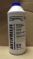 """Антифриз G11 """"HighWay""""  концентрат 1,5л."""