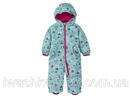 Зимний термо комбинезон для девочки 6 - 9 месяцев, р. 74, Lupilu