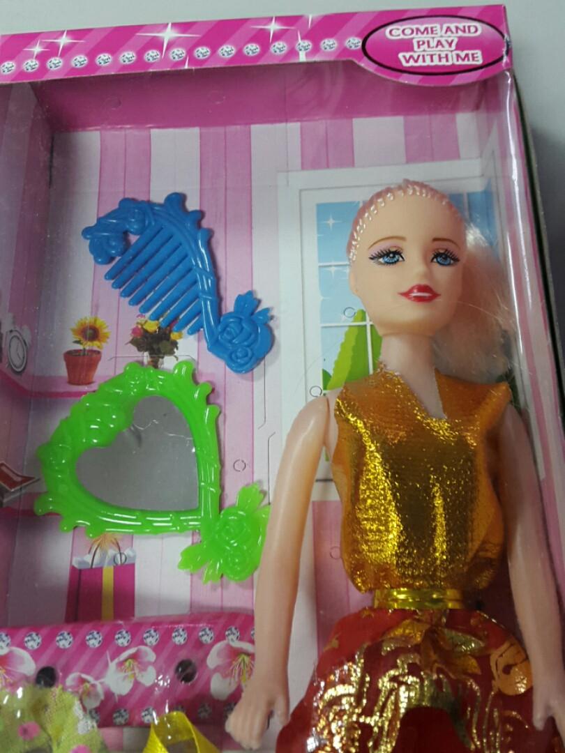 Кукла в наборе с аксессуарами