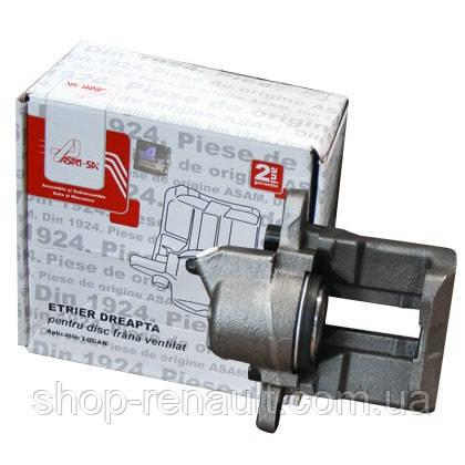 Суппорт тормозных колодок правый (диск вентилируемый) OE 7701201966 7701207959 7701499302
