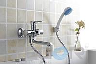 Смеситель для ванны с душем Zegor PUD3 (PUD3-A045) однорычажный с коротким изливом цвет хром