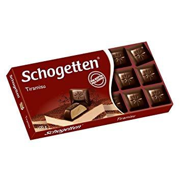 Немецкий шоколад Schogetten Тирамису, 100гр