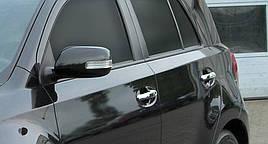 Накладки на ручки (4 шт, нерж.) - Toyota Urban Cruiser
