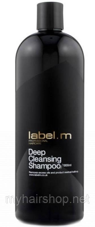 """Шампунь """"Глубокая очистка"""" LABEL.M Cleanse Professional Haircare Deep Cleansing Shampoo 1000 мл"""