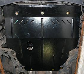 Защита картера (двигателя) и Коробки передач на Форд Фьюжн 2 (Ford Fusion II) 2013 - ... г (металлическая/американец)