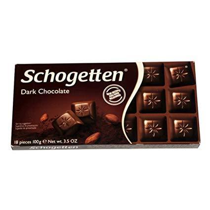 Немецкий шоколад Schogetten Темный, 100гр