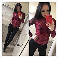 83854213864c Бархатное женское боди-рубашка с длинным рукавом 13437JB, цена 580 ...
