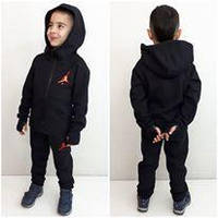 Теплый спортивный костюм унисекс Air Черный с перчаткой