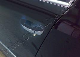 Накладки на ручки плоские (4 шт, нерж) - Volkswagen Scirocco