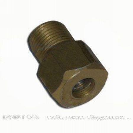Соединение трубки стальной d. 10х6