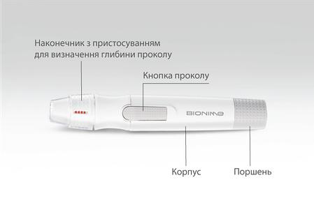 Ланцетное устройство для прокола  - Bionime, фото 2