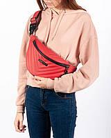57002d9364ef Поясная сумка на пояс барсетка красная MOLL HARVEST (сумки, женская сумка,  кондукторка,