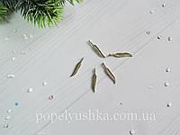 """Підвіска Пір""""їнка металева 3,7*0,7 см"""