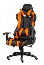 Крісло офісне геймерське еxtrеmеRacе black/огапде
