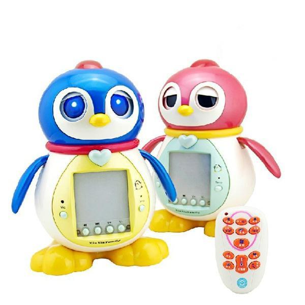 """Интерактивный Пингвинёнок """"Тиша"""" 2050 с пультом розовый"""