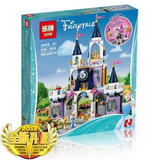 """Конструктор Lepin 25014 """"Волшебный замок Золушки"""" 655 деталей. Аналог Lego Disney Princess 41154"""
