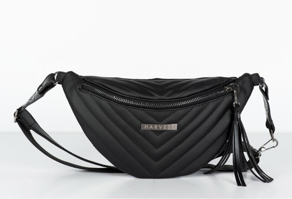 0235319bc64b Поясная сумка на пояс барсетка MOLLY HARVEST черная (сумки, женская сумка,  кондукторка,