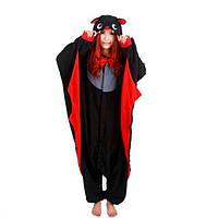 Кигуруми летучая мышь черная пижама krd0066