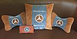 Автомобильная подушка подголовник с логотипом, фото 7