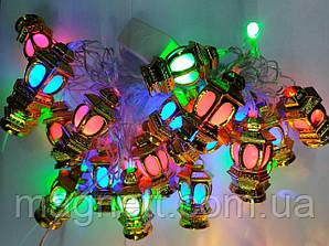Оригінальна гірлянда ліхтарики 5 метрів LED 20 (середні)