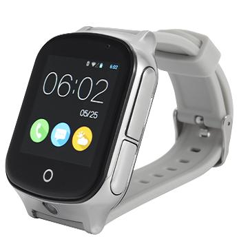 Умные смарт-часы Smart GPS Samtra A19 с серым ремешком