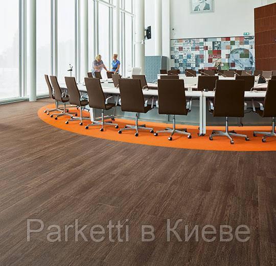 Forbo w60376 chocolate collage oak вінілова плитка Allura Wood