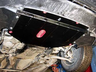 Защита картера (двигателя) и Коробки передач на КИА Опирус (KIA Opirus) 2003-2007 г (металлическая/3.0/3.5)