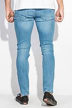 Джинсы мужские светлые 421F003-2 (Голубой), фото 3