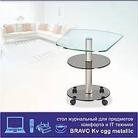 Журнальный столик из стекла Bravo Kv cgg chr, фото 1
