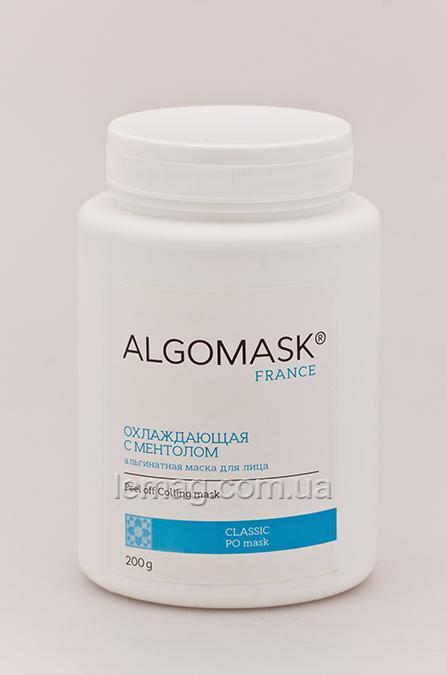 ALGOMASK Peel off Colling mask Охлаждающая альгинатная маска для лица и тела с Ментолом, 25 г