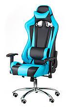 Крісло офісне геймерське еxtrеmеRacе black/bluе