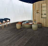 Forbo w60074 black rustic oak вінілова плитка Allura Wood, фото 1
