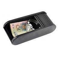 Автомобиль многофункциональный телефон деньги кошелек ключ ящик для хранения сумка черного - 1TopShop
