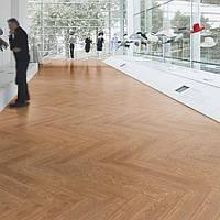 Forbo  w60063/w60056 waxed oak  виниловая плитка Allura Wood, фото 1