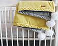 Детский велюровый плед в кроватку 100 х 80 см (цвет под заказ), фото 9