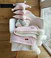 Детский велюровый плед в кроватку 100 х 80 см (цвет под заказ), фото 5