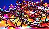 Новогодняя гирлянда многоцветная 400 диодов 17 метров