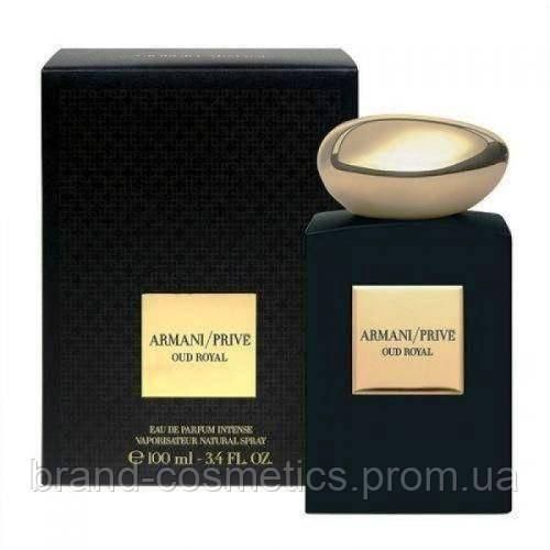 Мужская парфюмированная вода Giorgio Armani Prive Oud Royal 100 мл