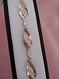 Серебярный браслетик Мелодия, фото 3