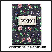 "Обложка на паспорт ""Сад"", фото 1"