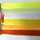 🍈 Цветные пряди на заколках, бледный шартрез 🍈, фото 2