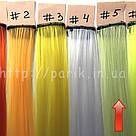 🍈 Цветные пряди на заколках, бледный шартрез 🍈, фото 3