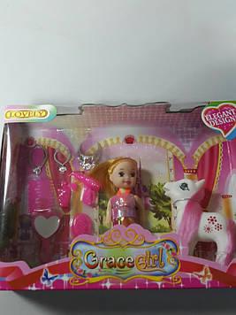 Кукла в наборе с пони