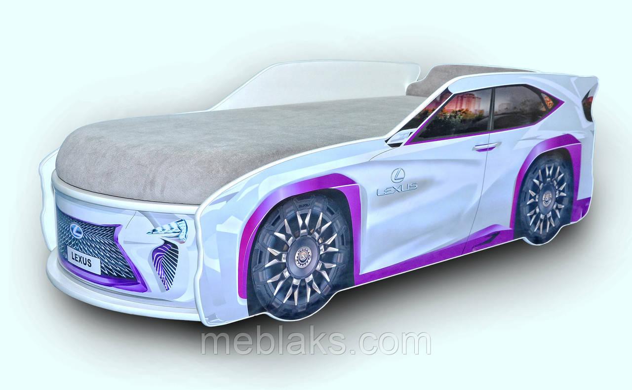 Кроватка машина Lexus Mebelkon