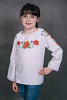 Пошита блузка дитяча для вишивки ШВД-03 (Княгиня Ольга)