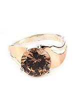 Кольцо оригинальное с золотом Амалия, фото 1